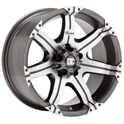 Gun Metal 7 Tires